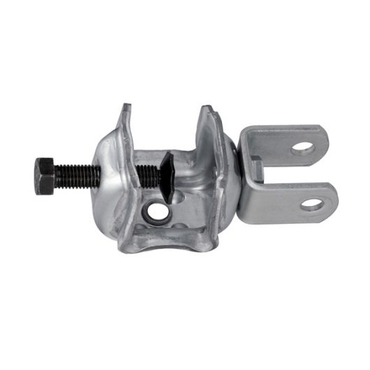 KS ベランダサポート用 部品 (外管) 鉄骨チャッキング(鉄骨用)